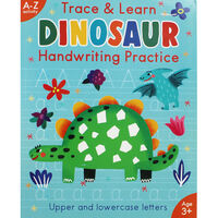 Trace and Learn Dinosaur Handwriting Practice
