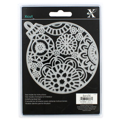 Xcut Ornate Bauble Metal Cutting Die image number 2