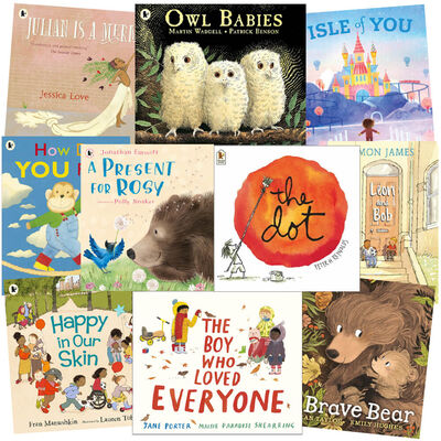 Positive Thinking: 10 Kids Picture Books Bundle image number 1