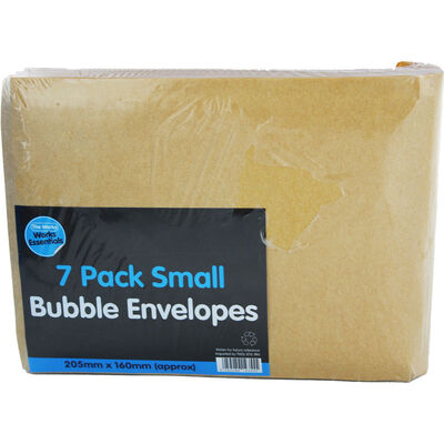 Small Bubble Lined Envelopes - Pack Of 7 image number 1