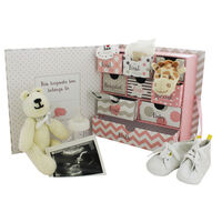 My First Keepsake Baby Box: Pink