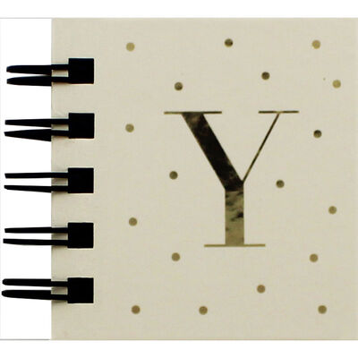 Personalised Letter Y Sticky Notes Book image number 1