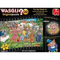 Wasgij Original 32 The Big Weigh In 1000 Piece Puzzle