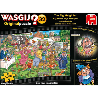 Wasgij Original 32 The Big Weigh In 1000 Piece Puzzle image number 1