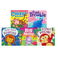 Jungle Antics: 10 Kids Picture Books Bundle