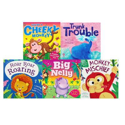 Jungle Antics: 10 Kids Picture Books Bundle image number 2