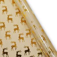 Christmas Gift Wrap 3m: Assorted Foil Design