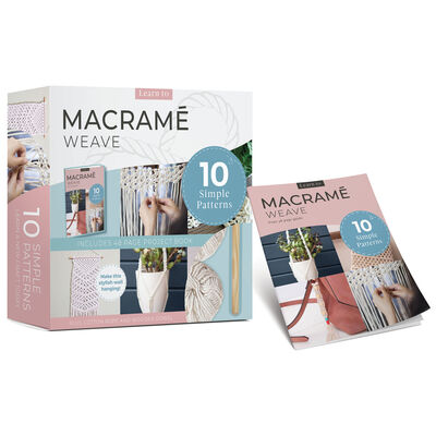 Learn to Macramé Weave Kit image number 1