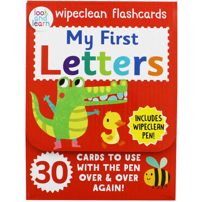 My First Letters - Wipeclean Flashcards image number 1