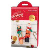 Make Your Own Mini Christmas Crackers: Festive Characters