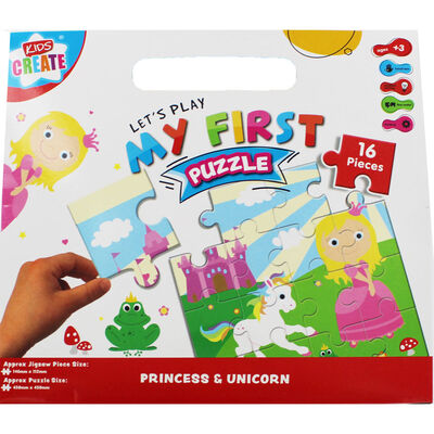 My First Princess 16 Piece Puzzle image number 1