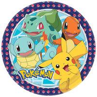 Pokemon Round Plates 23cm