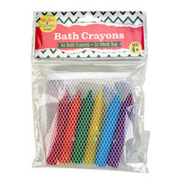 Bath Crayons: Pack of 6