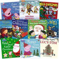 Peppa Pig & Other Christmas Tales: 10 Kids Picture Books Bundle