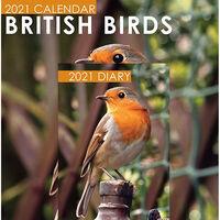 British Birds 2021 Calendar and Diary Set