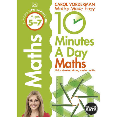 10 Minutes A Day: Maths image number 1