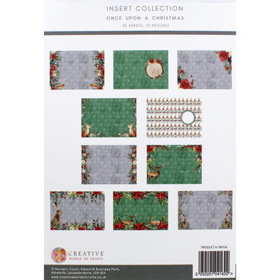 Once Upon a Christmas Insert Collection - 40 Sheets image number 3