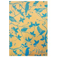 A5 Casebound Blue Bird Notebook