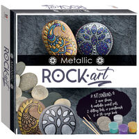 Metallic Rock Art Mini Kit