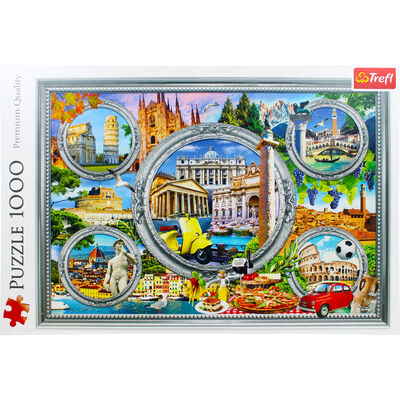 Italian Holiday 1000 Piece Jigsaw Puzzle image number 2