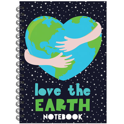 A5 Wiro Love The Earth Notebook image number 1