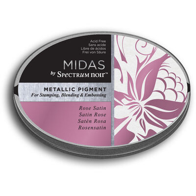 Spectrum Noir Midas Metallic Pigment Inkpad - Rose Satin image number 1