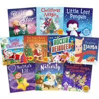 Rockin' Reindeer and Friends: 10 Kids Picture Books Bundle
