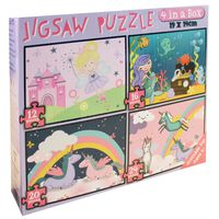 4 In 1 Jigsaw Puzzle Set