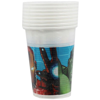 Avengers Plastic Cups - 8 Pack image number 1