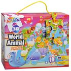 3D World Animal 18 Piece Jigsaw Puzzle image number 1