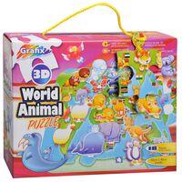 3D World Animal 18 Piece Jigsaw Puzzle