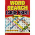 Super Large Print Wordsearch - Assorted image number 1