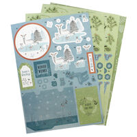 Winter Woodland A4 Decoupage Pack