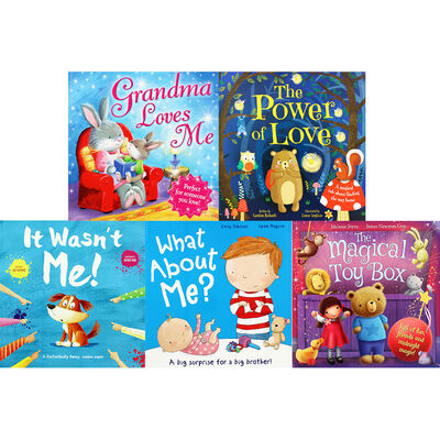Friends And Family Fun: 10 Kids Picture Books Bundle image number 2