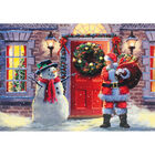 Cancer Research UK Charity Santa Christmas Cards: Pack of 10 image number 2