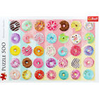 Doughnuts 500 Piece Jigsaw Puzzle image number 2