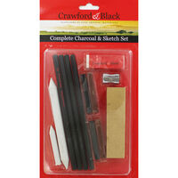 Complete Charcoal and Sketch Set