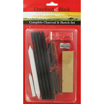 Complete Charcoal and Sketch Set image number 1