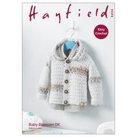 Hayfield Baby Blossom DK: Jacket Knitting Pattern 5232