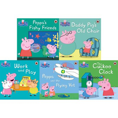 Peppa Pig Rainbow Fun: 10 Kids Picture Books Bundle image number 2