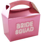 Pink Bride Squad Mini Favour Boxes - 10 Pack image number 3
