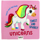 Sweet and Sparkly Unicorns: Touch-and-Feel Book image number 1