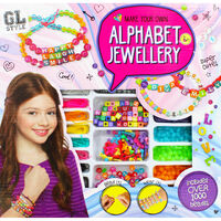 Make Your Own Alphabet Jewellery