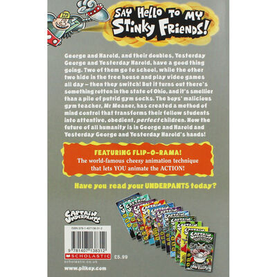 Captain Underpants and the Sensational Saga of Sir Stinks-A-Lot image number 2