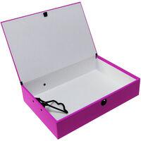 Bright Pink Foolscap Box File