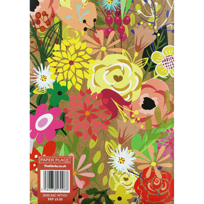 A5 Traditional Floral 2020 Week to View Diary image number 2