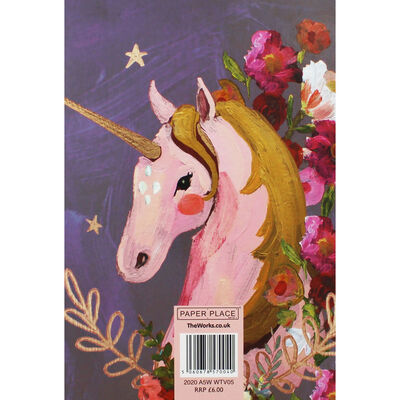 A5 Wiro Unicorn 2020 Week to View Diary image number 2
