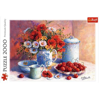 Sweet Afternoon 2000 Piece Jigsaw Puzzle image number 2