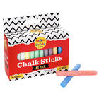 Assorted Colour Chalks: Pack of 48 image number 1