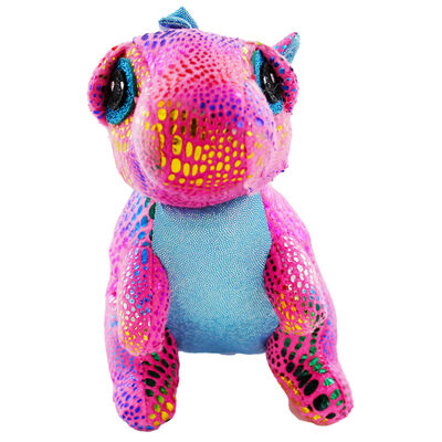 Pink Snuggly Dinosaur Plush image number 2